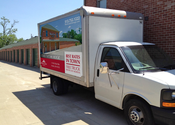Free-Self-Storage-Truck-Cincinnati-Rock-Castle-Storage