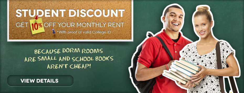 Rock Castle Storage Student Discount